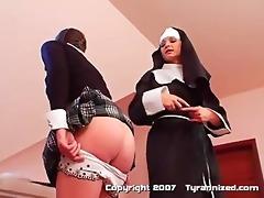 a nun and