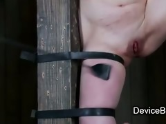 belted to